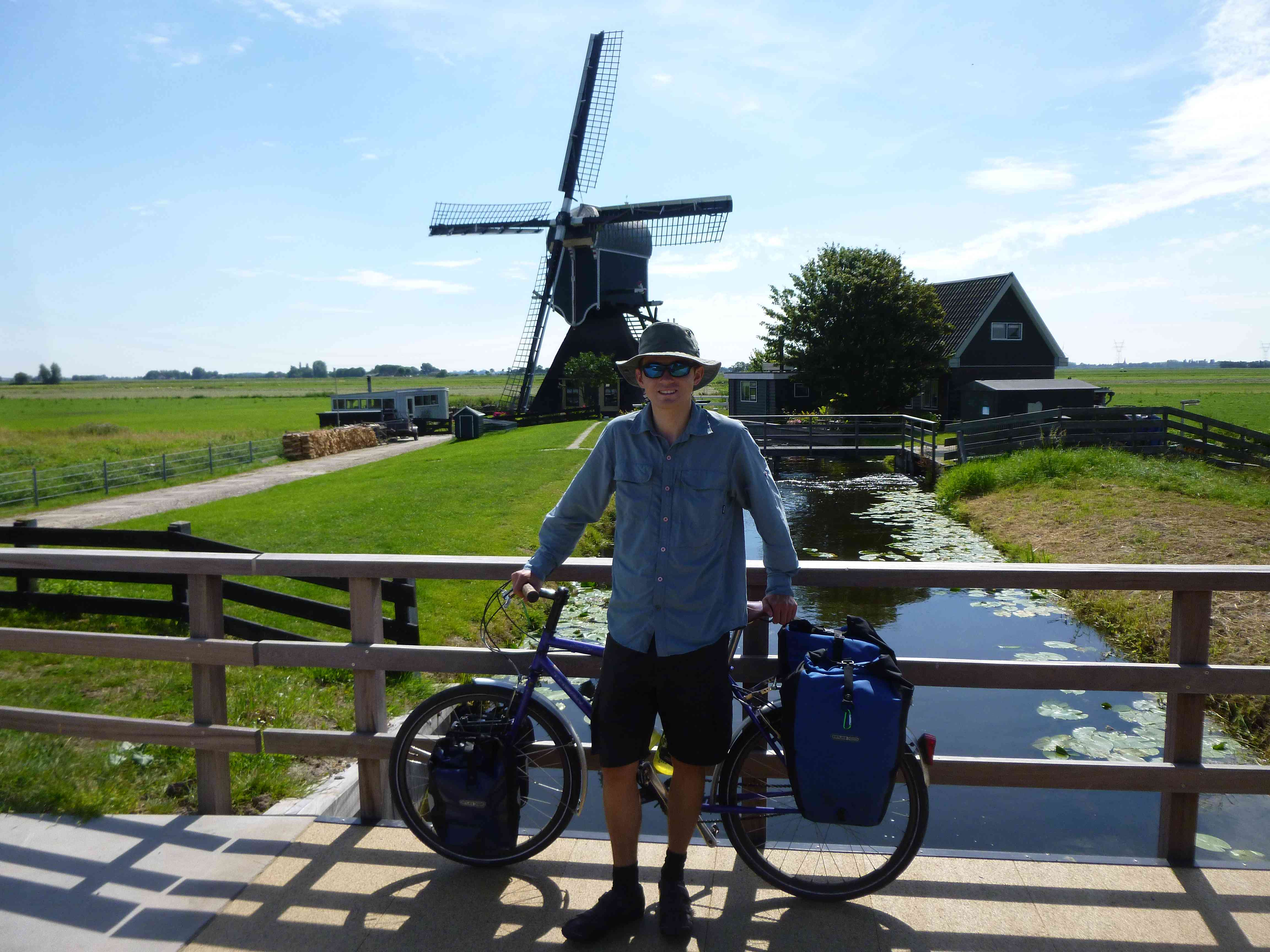 Bicycle touring through the Netherlands
