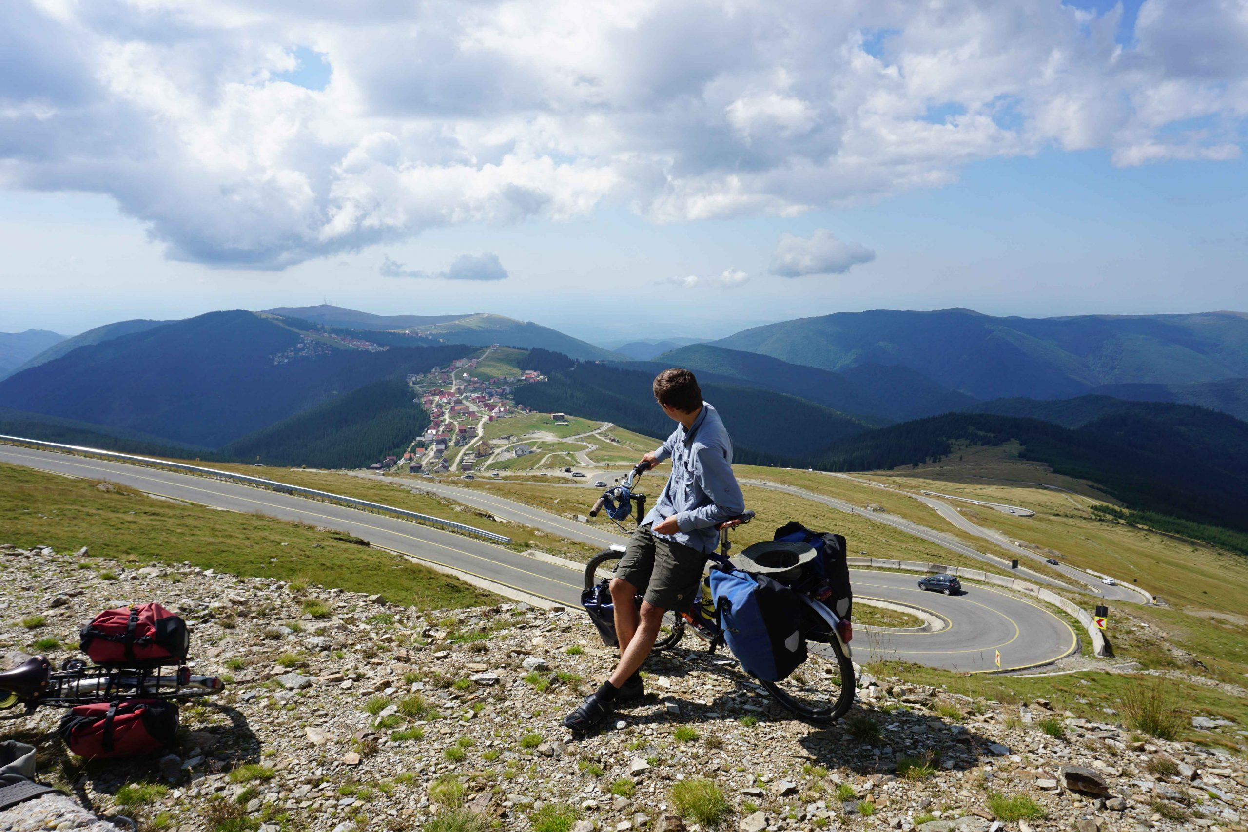 Up and over the Transalpina in Romania