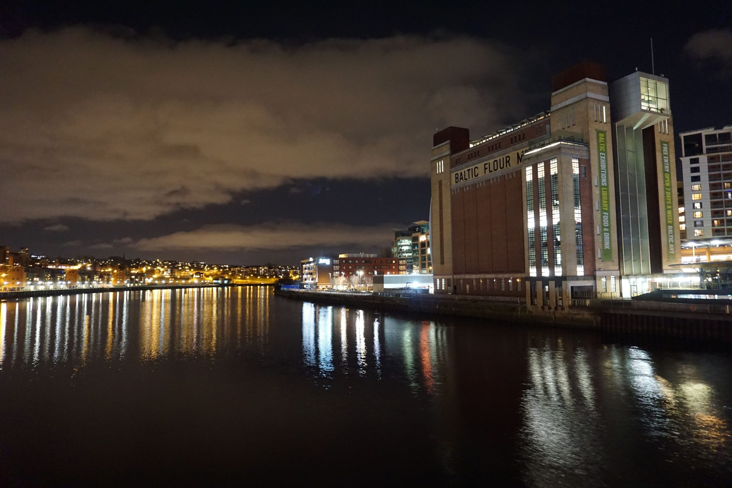 Night Photography in Newcastle