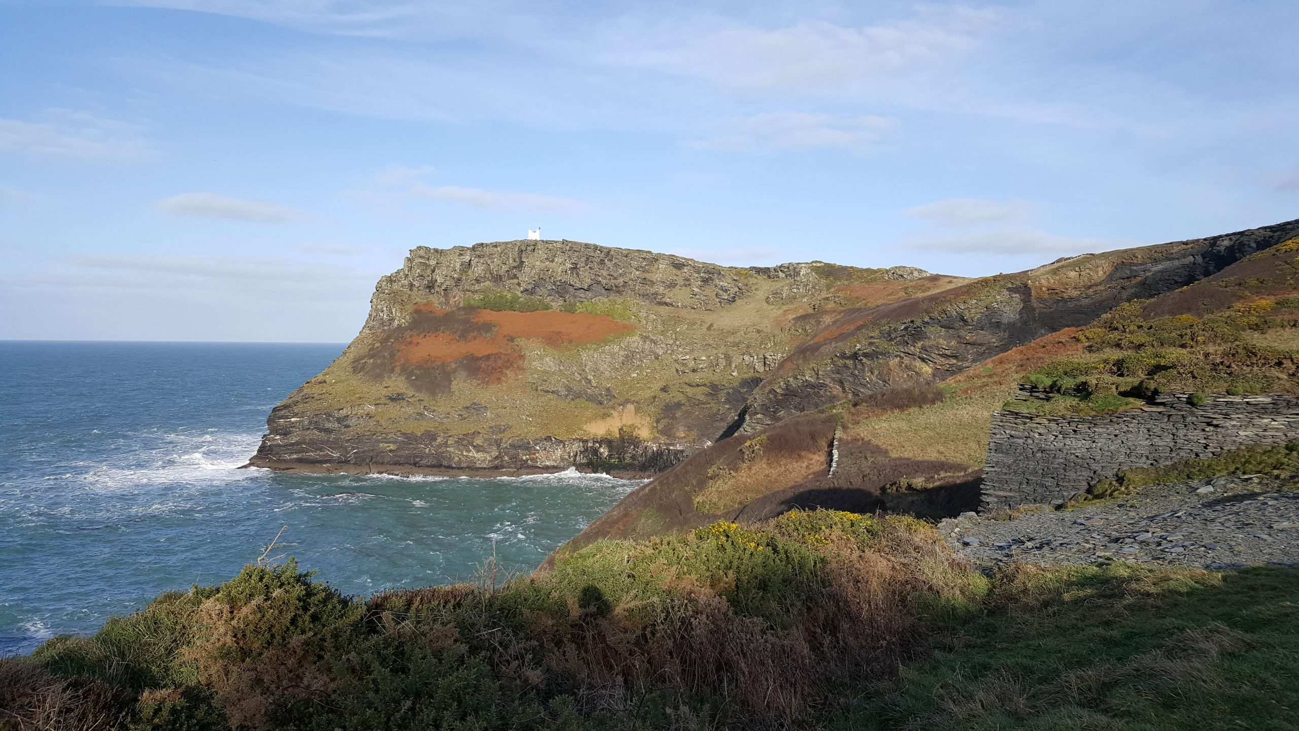 Boscastle's Solitary Seawatchers