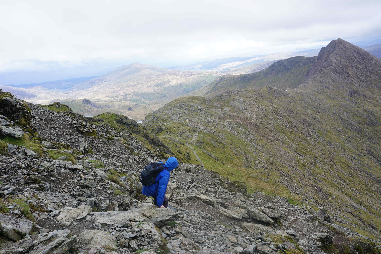 Climbing Mount Snowdon