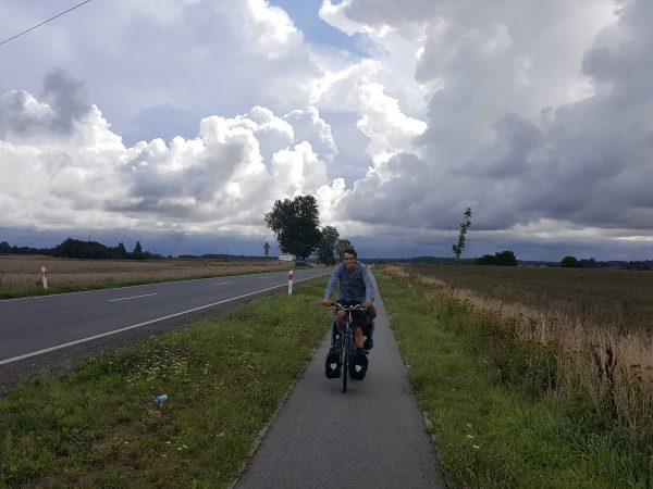 Bicycle touring through Poland
