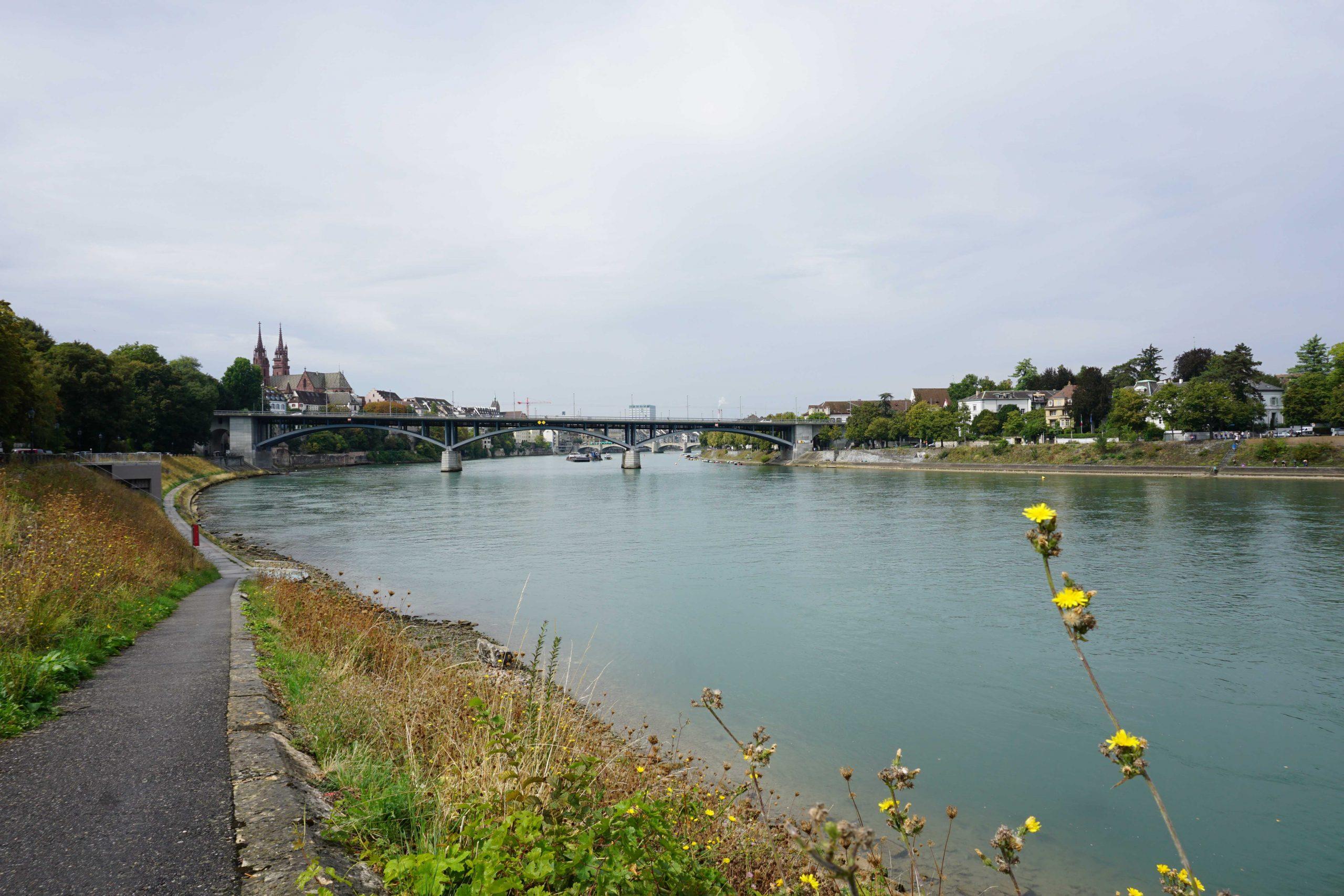 Rhine and Basel Minster
