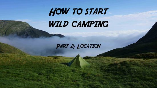 How to start wild camping: Location