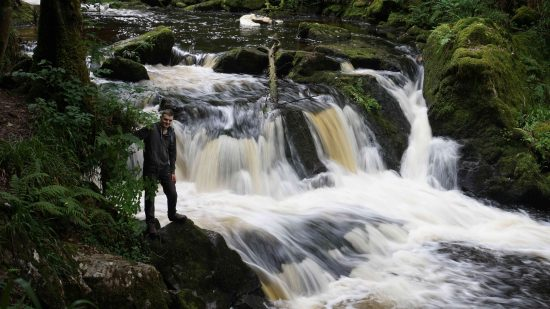 Golitha Falls and Cheesewring