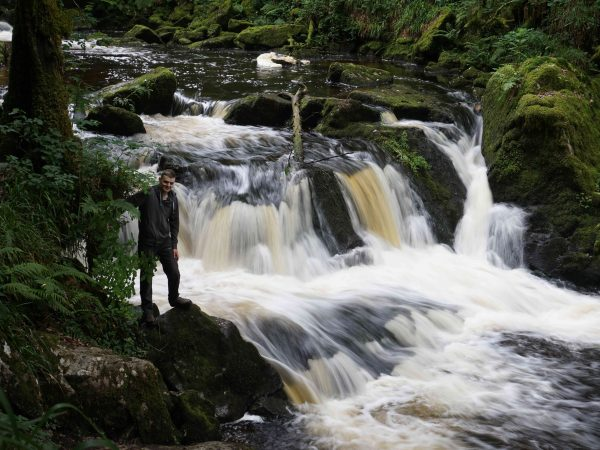 Golitha Falls and Cheesewring